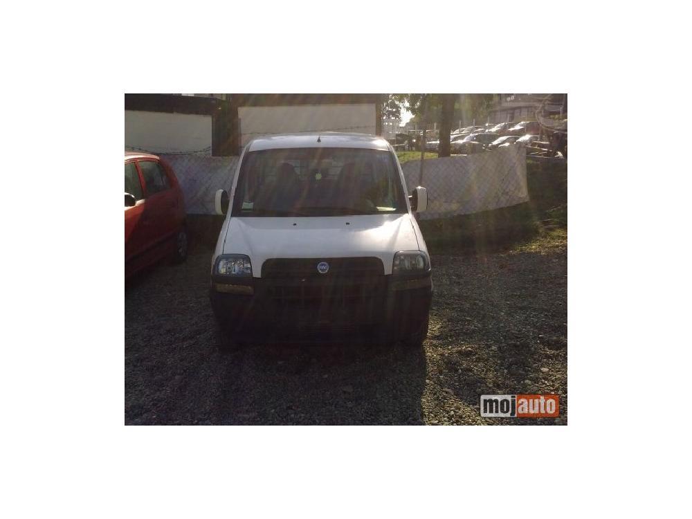 Prodám Fiat Doblo 1.9jtd PUTNICKI