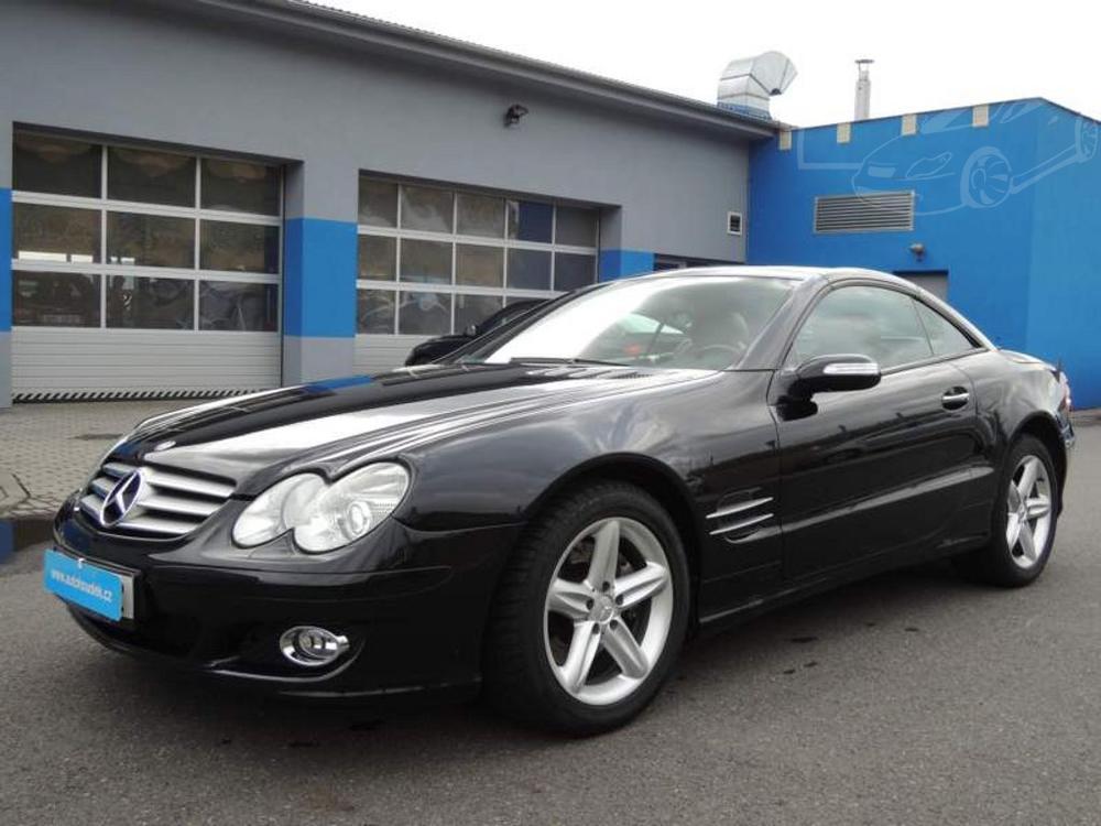 Prodám Mercedes-Benz SL 350 ser.kniha nové CZ