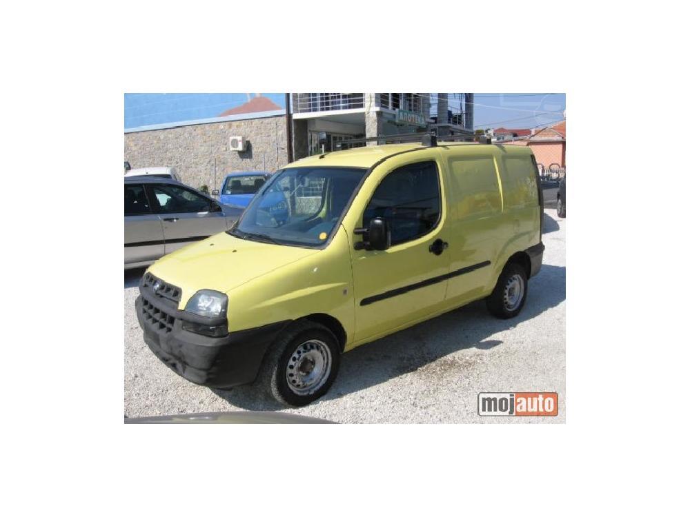 Prodám Fiat Doblo 1.9 D